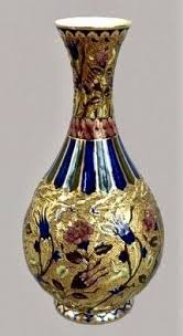 Antique Pair Of Royal Doulton Persian Vases Series Ware D3550 Persian Kaendler Johann Joachim Meissen 1748 Art Porcelain