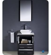 Espresso Vanity Bathroom 24