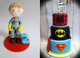 superman cake toppers cakes cake magazine