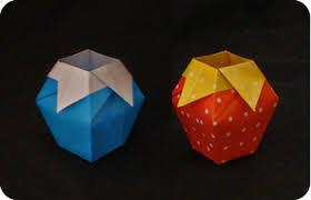 Simple Origami Vase - paper vase make origami