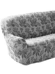 housse de canapé extensible housse de canapé extensible jacquard gris maison charmance daxon
