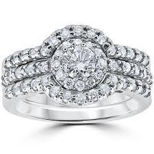 Wedding Ring Trio Sets by Bridal Sets U2013 Bliss Diamond