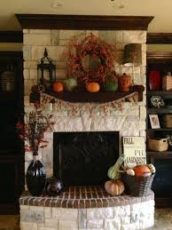 fall porch decor holidays pinterest harvest thanksgiving favorite fall mantels and white mantel on pinterest autumn halloween home decor fireplace mantle ideas by i