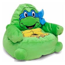 ninja turtles character figural toddler bean chair walmart com
