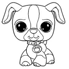 Nice Ideas Little Pet Shop Coloring Pages Littlest For Kids Free Puppy Color Pages