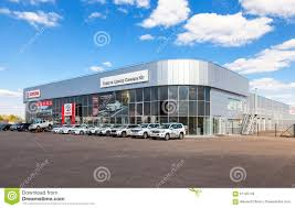 toyota official office of official dealer toyota in samara russia editorial stock