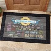 Summer Doormats Personalized Summer Doormat 18x27 Add Custom Text For The Home