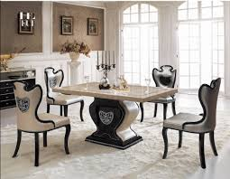 White Marble Dining Table Dining Room Furniture Dining Room Table Contemporary Marble Dining Table Decor Ideas