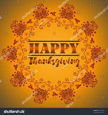 card design style happy thanksgiving day stock vector 518136898