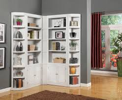 Corner Bookcases House Boca Corner Bookcase Unit Wayside Furniture