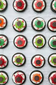 easy oreo eyeballs recipe popsugar food