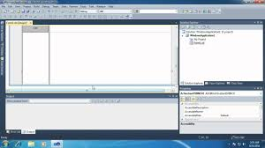 how to create a simple windows forms application using the