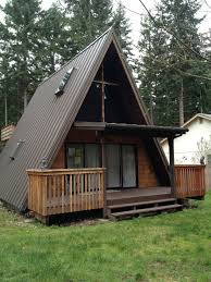 a frame roof metal roofs in the puget sound cabin inspiration pinterest