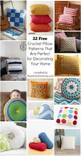 Home Patterns 22 Free Crochet Pillow Patterns That Are Perfect For Decorating