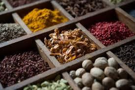 spices notes bois de