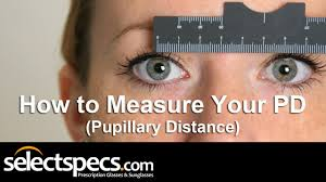 how to measure your pd pupillary distance with selectspecs hd