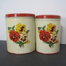 vintage kitchen canisters 28 images vintage kitchen canisters