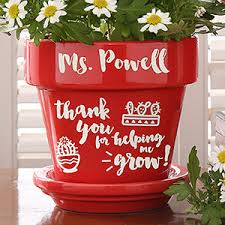 personalized flower pot personalized gift flower pot gifts