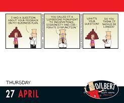 dilbert 2017 day to day calendar 0050837353527