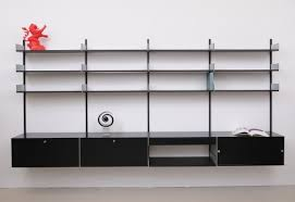 606 Universal Shelving System by 606 Universal Shelving System Wall Unit By Dieter Rams For Vitsoe