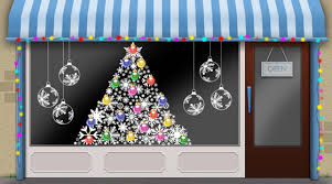 Christmas Window Decorations Ideas by Decorating Christmas Window Display Ideas Inspiring Photos