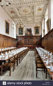 cambridge university uk dining hall clare college cambridge