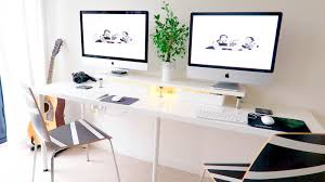 diy ikea desk set up under 100 likemardons
