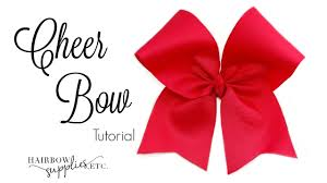 hairbow supplies how to make a cheer bow hairbow supplies etc