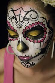 Sugar Skull Halloween Makeup 66 Best Grimage Mort Mexicaine Images On Pinterest Halloween