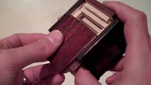 cnc cut puzzle box youtube