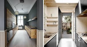 cuisine couloir comment aménager une cuisine couloir maison travaux