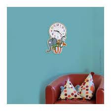 horloge chambre bébé horloge enfant en ballon deco chambre enfant série golo