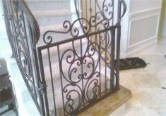 iron baby gates for stairs small baby gate for stairs home design