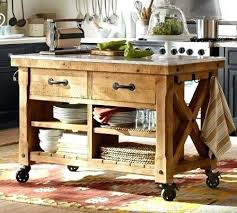Wheeled Kitchen Islands Mobile Kitchen Island Carts Snaphaven