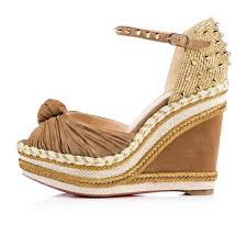 christian louboutin wedges up to 70 off at tradesy