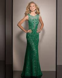 clarisse 2613 green sheath sheer cutout back prom dress