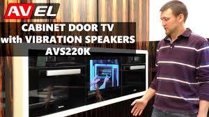 Tv For Kitchen Cabinet Built In In Cabinet Cabinet Door Small Hidden Mirror Waterproof
