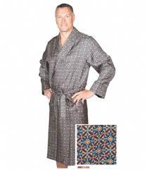 robe de chambre pour homme robe de chambre en soie richmond insilk soie