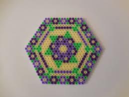 drink coaster hexagonal tile home decor house warming