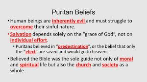 from colony to country literature in the puritan tradition ppt