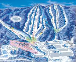 Mt Snow Trail Map Whitetail Mountain Resort Trail Map U2022 Piste Map U2022 Panoramic