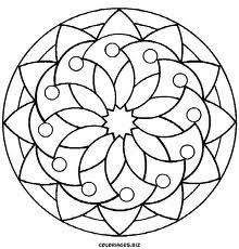 gorgeous inspiration kids mandala coloring pages mandalas print