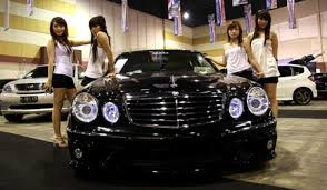 expensive cars for girls expensive car 2010 modified cars contest show surabaya