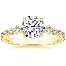 brilliant rings images Lela rose is designing wedding bands and engagement rings with jpg