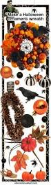 erika makes a fabulous halloween wreath using our christmas
