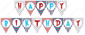 happy birthday banner printable best business template