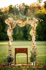 wedding arches south wales 40 outdoor fall wedding arch and altar ideas wedding fall