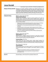 Receiving Clerk Resume Sample 9 Sample Resume For Shipping And Receiving Azzurra Castle Grenada