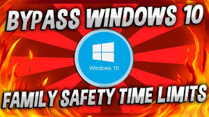 Family Safety Bypass Disable Hack Windows 10 Family Safety Time Limits 2017