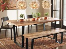 bench dining sets with bench awesome rustic dining bench dining